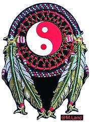 Chamane Amérindienne Logo