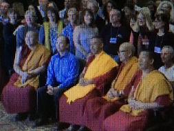 méditation avec les Monks Thibétains