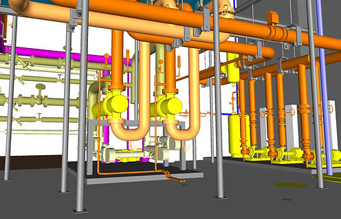 Mechanical Piping BIM