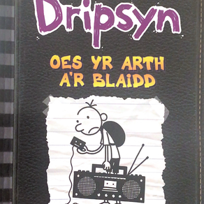Dyddiadur Dripsyn: Oes yr Arth a'r Blaidd - Jeff Kinney [addas. Owain Siôn]