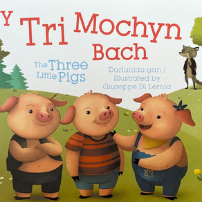 Y Tri Mochyn Bach/The Three Little Pigs - Giuseppe Di Lernia