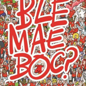 Ble mae Boc? Huw Aaron