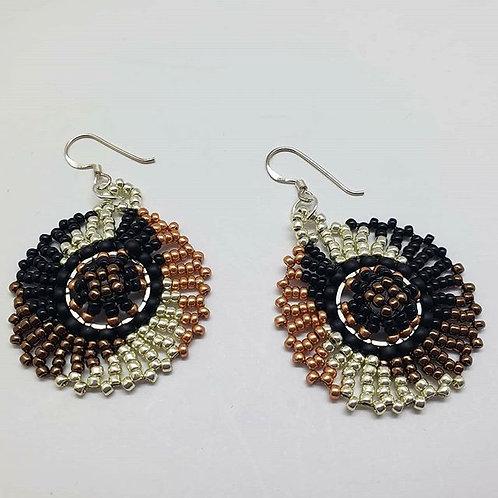 Spiral Wheel earrings