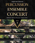 Percussion Ensemble Concert Poster.jpg