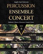 Percussion Ensemble Concert Poster.jpg