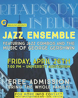Rhapsody in Blue Jazz Ens Concert April