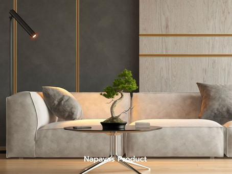 """เปลี่ยนผนังห้องทั่วไปให้ทันสมัย แต่ยังคงความอบอุ่นมีสไตล์ ด้วย """"กรุยเชิงลายไม้"""" จาก Napavas Product"""
