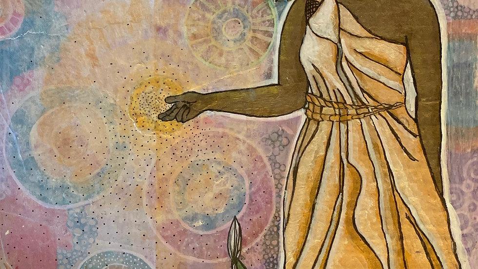 The Empress (Christina Alessi original art)
