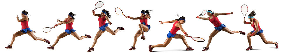 Female tennis player in action during game isolated on white background.jpg