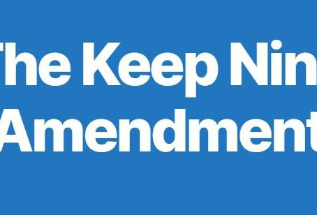 www.KeepNine.org Launches Keep Nine Amendment To Permanently Ban Court Packing