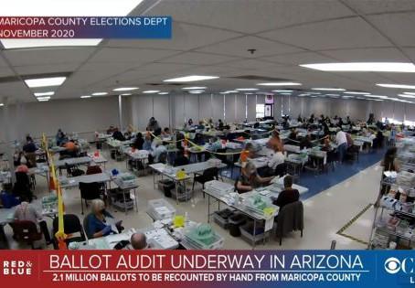 Democrats Weaponize Department of Justice Against Arizona Audit