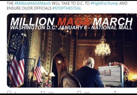 Call Your Senators And Plan To Be In Washington DC On January 5 and 6
