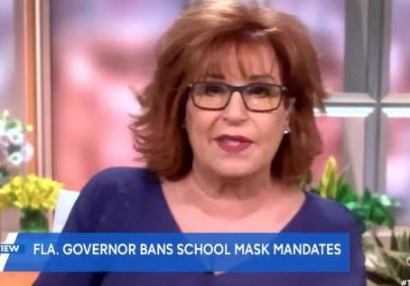 Joy Behar calls Ron DeSantis a 'sociopath' with 'white supremacist base' who rejects mask mandates