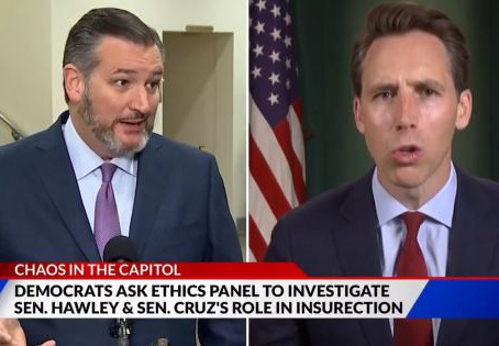 Don't Let The Left Hobble MAGA Conservatives Cruz And Hawley
