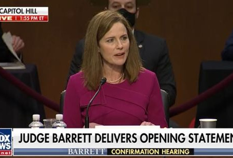 Amy Coney Barrett – Supreme Court Not A Super Legislature