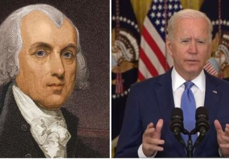 The Right Resistance: Joe Biden, James Madison and the long lost lessons of constitutional liberty