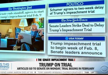 Tell Senators Impeachment of Citizen Donald J. Trump is Unconstitutional