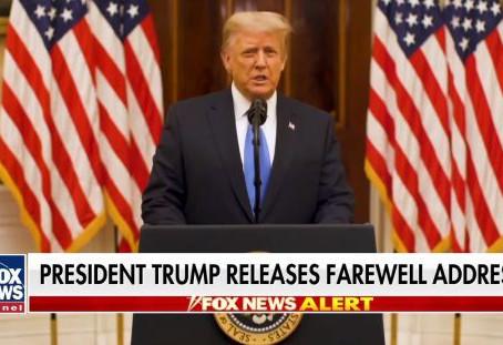 The Farewell Address of President Donald J. Trump