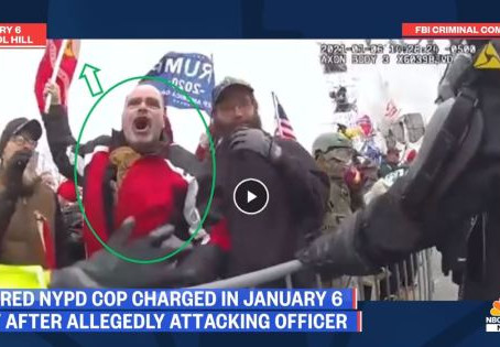 Did Cops Attack and Provoke Peaceful Protesters on January 6?