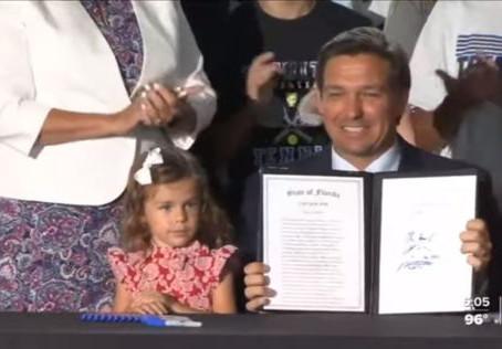 DeSantis Signs Bill To Keep Florida Girls Sports Female