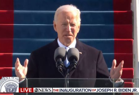 Biden's Hectoring Inaugural Address Bodes Ill For The Future