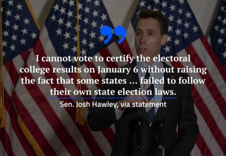 Sen. Josh Hawley Seizes The MAGA Moment – Now It Is Up To Us