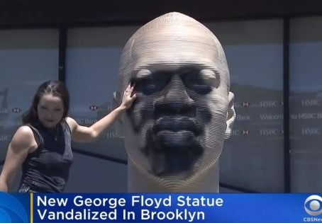 How Things Change: Defacing George Floyd Statue a Crime, Removing Teddy Roosevelt Statue Progress