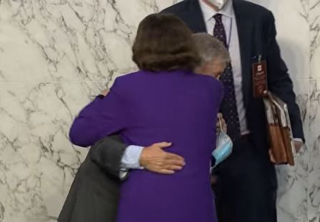 Assault on America, Day 658: Amy Coney Barrett, hugs and the cult of crazies on the left