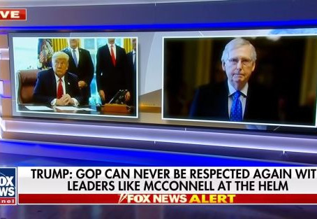 The Right Resistance: In battle of GOP pants-wearers, Trump easily trumps Mitch McConnell
