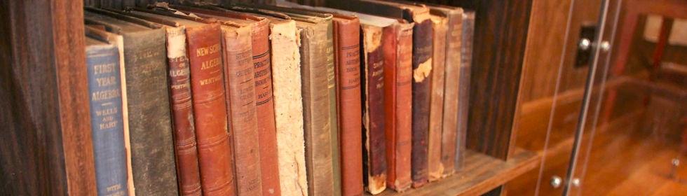 Books at the Iowa Rural Schools Museum
