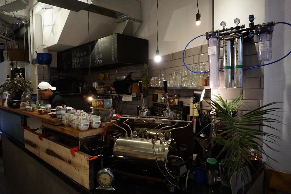 咖啡Bar的側圖