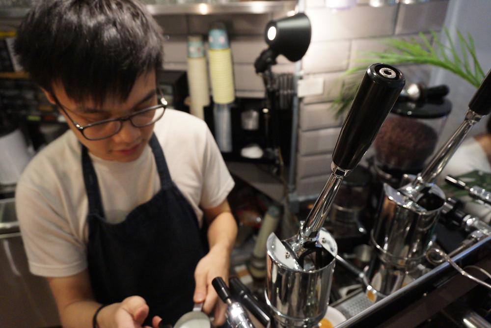 傳統意大利手動拉桿咖啡機