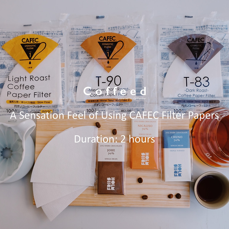 A Sensation Feel of Using CAFEC Filter Papers 咖啡濾紙大不同 (1)