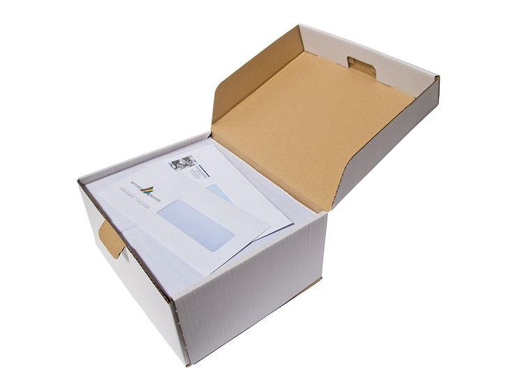 Impression par 1000 enveloppes US avec fenêtre