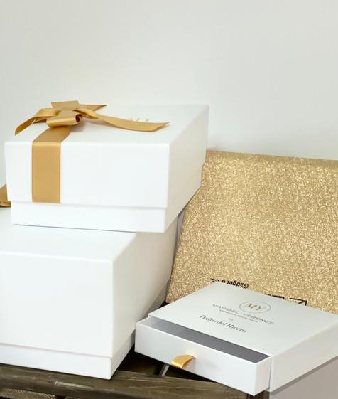 Cajas de lujo Maribel Yebenes