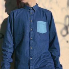 Camisa vaquera de algodón orgánico M&W