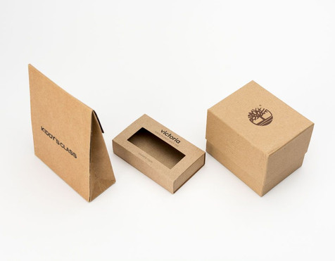 Cajas fabricadas en kraft
