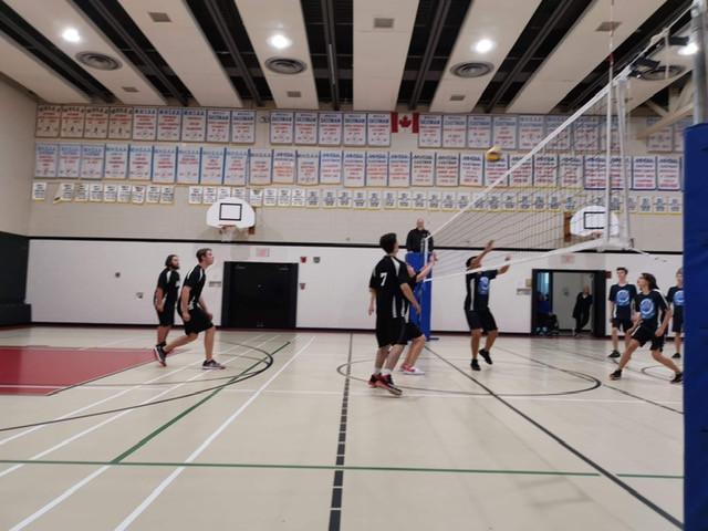 Varsity Boys Volleyball Wins!