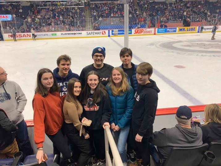 International Students Hockey Day!