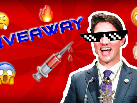 Giveaway! LIKE and SUBSCRIBE to Trudeau's Channel for Chance at Vaccine