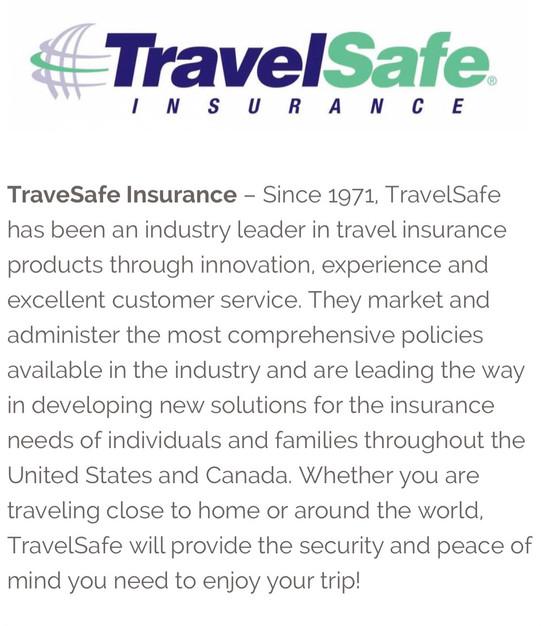 Travel Safe Insurance