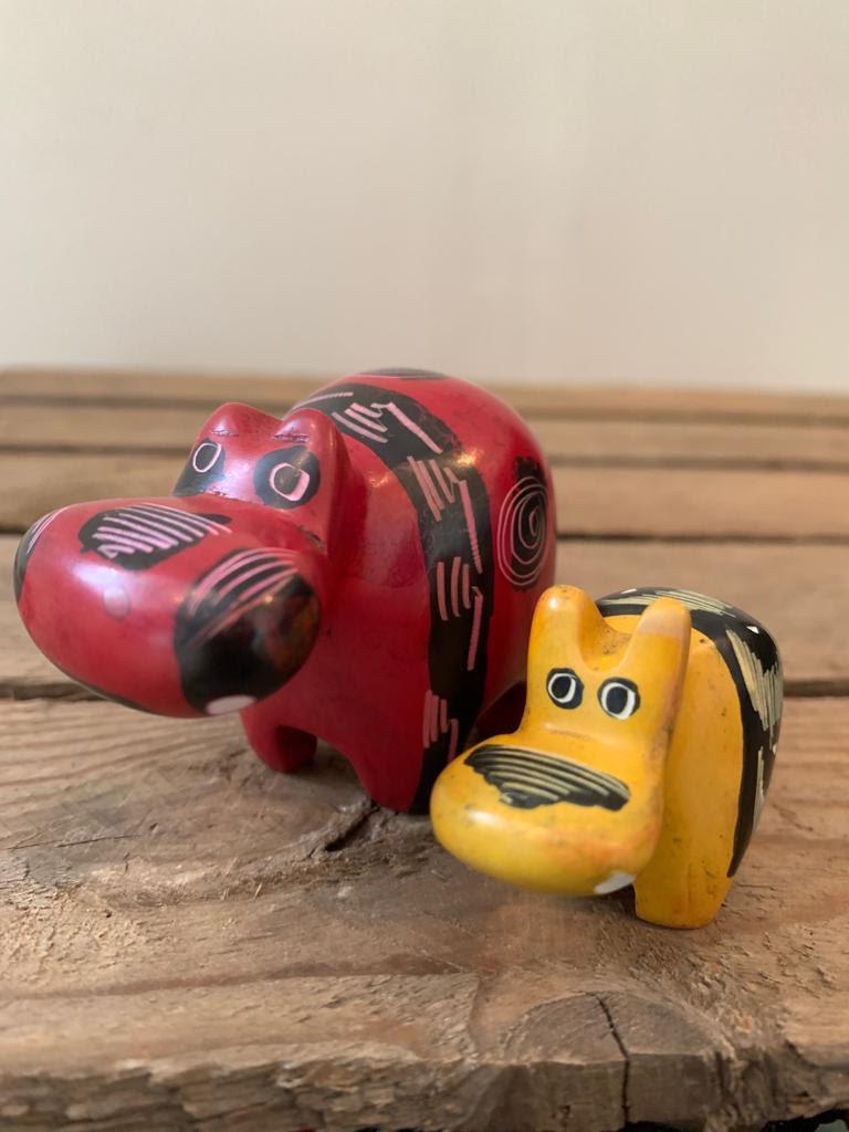Christmas - Hippos