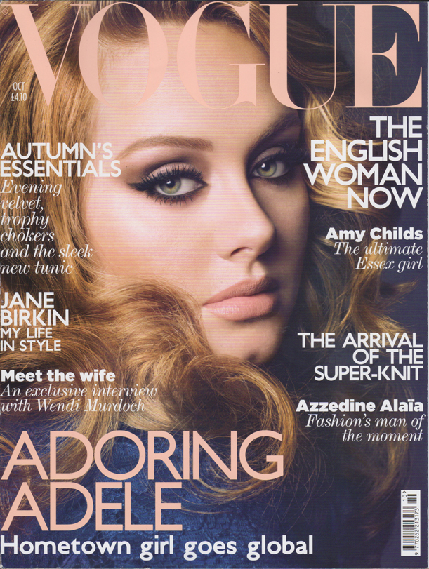 Article Vogue UK October 2011