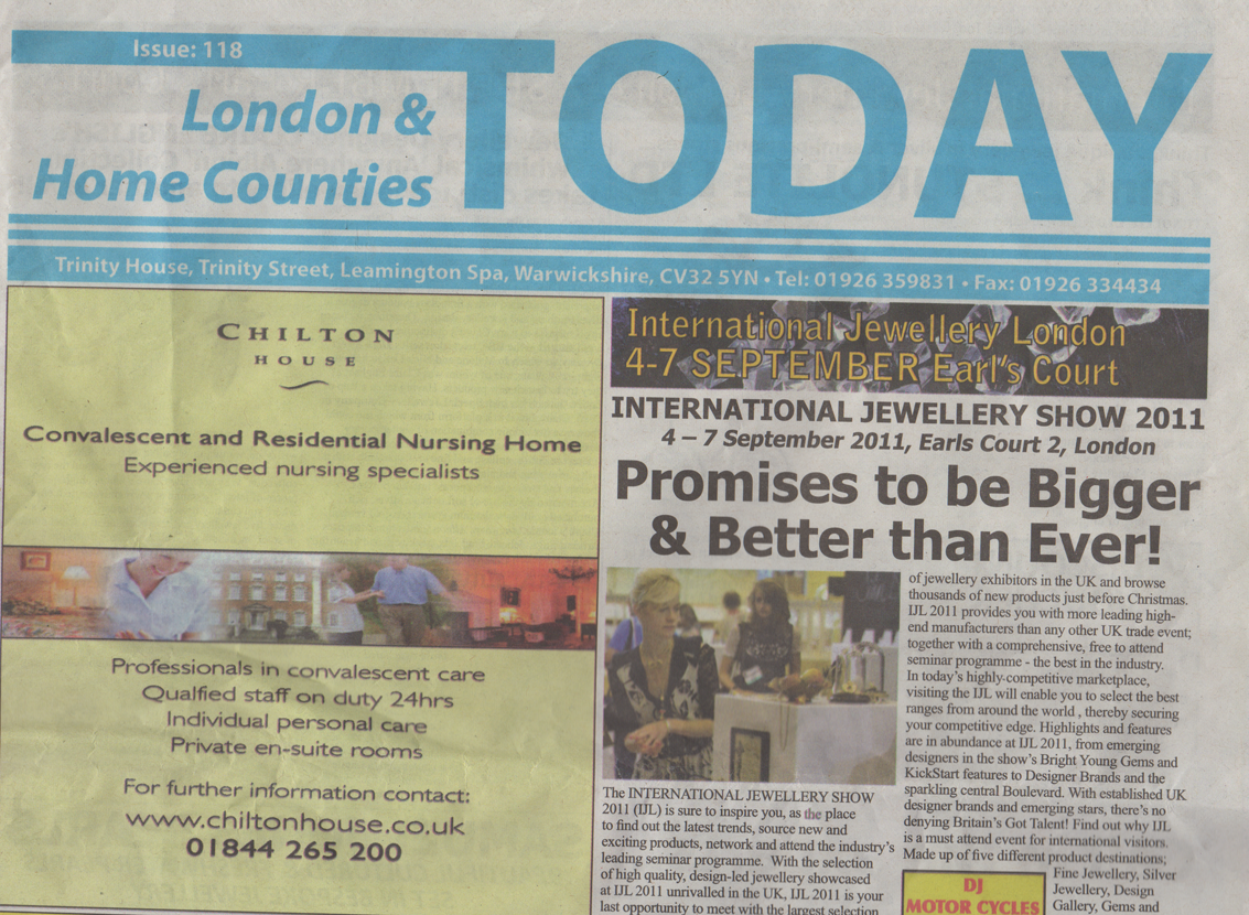 Article 'Home & london counties 2011