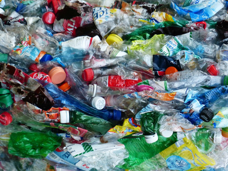 Plastic recycling news from the world of waste in April
