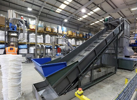 Indigo Environmental Group invests in cutting-edge contaminated plastics recycling line