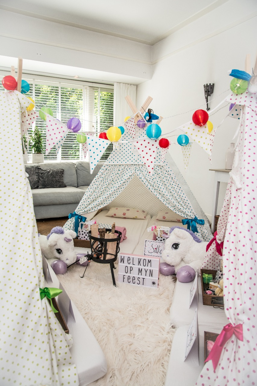 Kinderfeestje thuis vieren