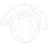LogoBlancoTextoCircularFondoTransparente