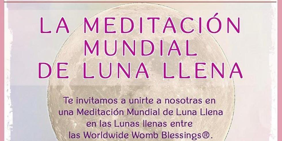 Meditación del Rayo Dorado centelleante de La Luna LLena