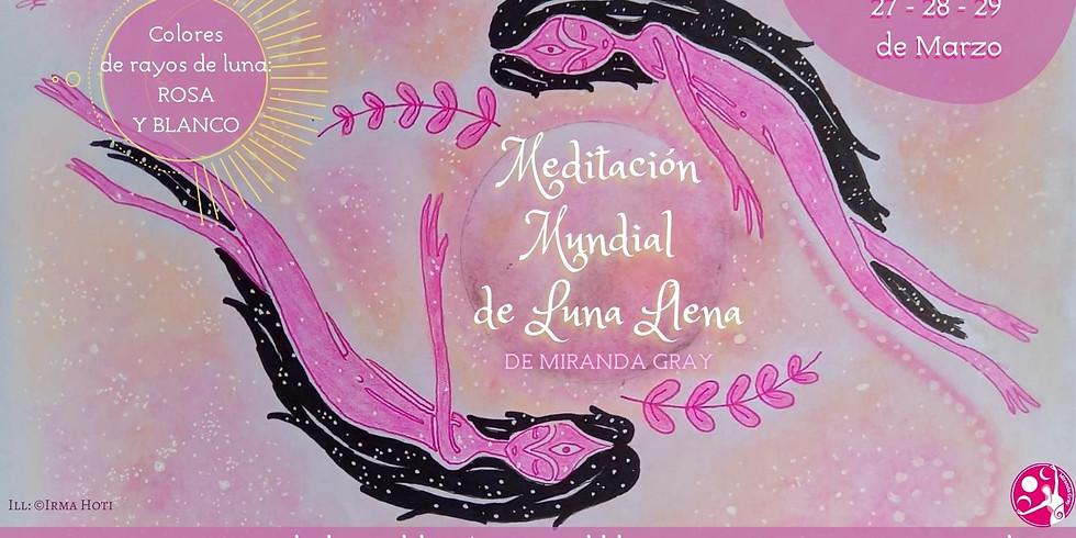 Meditación Mundial de La Luna LLena® PRESENCIAL
